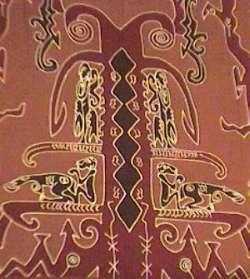 Batik Motif Asmat (batik.go.id)