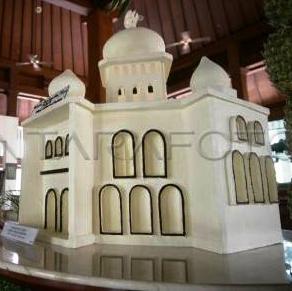 masjid cokelat
